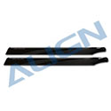 HD420H 425 Carbon Fiber Blades-Black