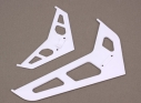 Stabilizer/Fin Set, White: B450