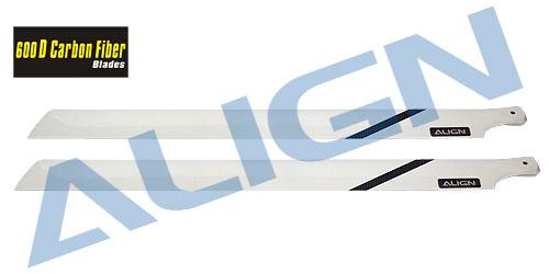 Align H60155 600D Carbon Fiber Blades/3K